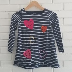⭐️ Lands End heart tunic top